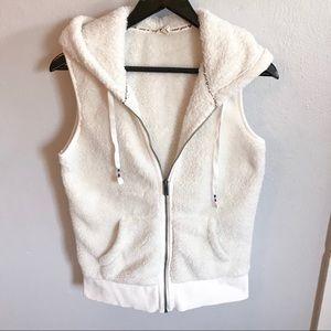 ❄️White Roxy Sherpa Vest